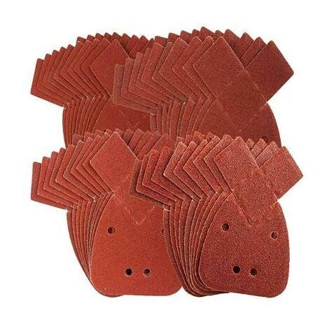 Lot de 40 patins abrasifs pour ponceuse Mouse Black & Decker