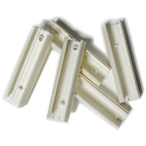 Lot de 5 attaches pour néons flexible mono couleur 220V