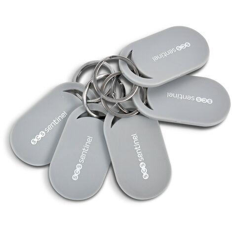 Lot de 5 badges RFID, RFID-Badges x5, RFID-Badges x5