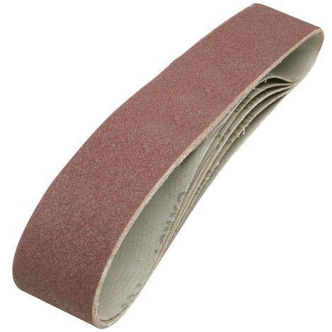 10/x K120/de tissus Taille Bandes abrasives pour ponceuse /à bande 75/x 533