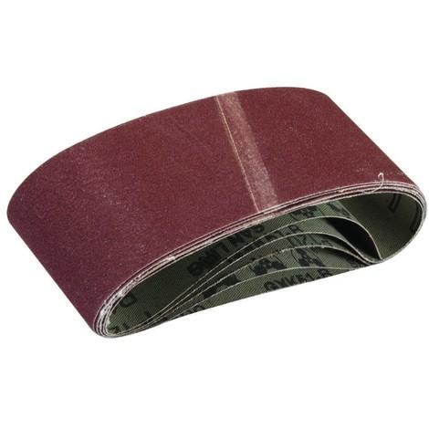 Lot de 20/pi/èces bandes abrasives 65/x 410/mm dans Tailles de grain 40/60/80/120/pour Ponceuse /à bande