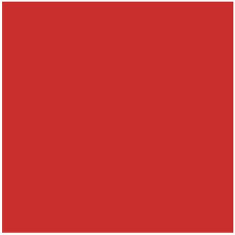 Lot de 5 carreaux 15x15 cm rouge