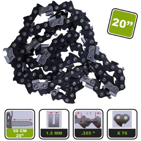 Lot de 5 chaînes Silex® pour tronçonneuse pour guide 20-50