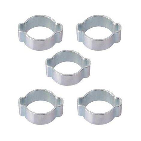 Lot de 5 colliers à oreille 13/15mm