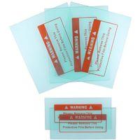 Lot de 5 couvre-verres 110 x 90 et 102 x 50 mm pour masque de soudure Silex®