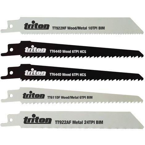 Pack 5/SSB AX bi-metal//CO 150/mm MILWAUKEE SAWZALL 5/TPI 48005021
