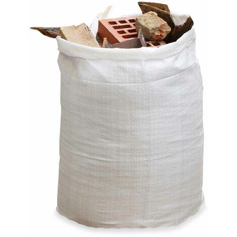 Lot de 5 sacs à gravats 70 L - Blanc