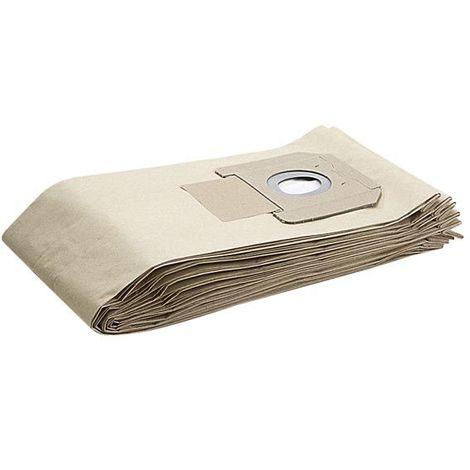 LOT de 5 sacs à poussières pour aspirateur KARCHER NT561 - 69042080