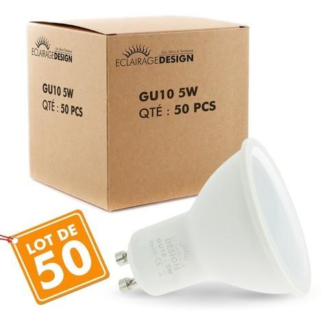 Lot de 50 Ampoules 5W eq. 40W 400 Lumens
