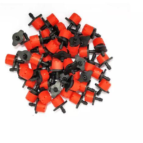 Lot de 50 goutteurs couleur rouge