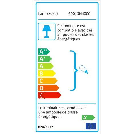 Lot de 50 Spot Led Encastrable Complete Alu Brossé Lumière Blanc Neutre 5W eq.50W ref.787