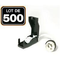 Lot de 500 Douilles GU10 Céramique Automatique 230V classe 2