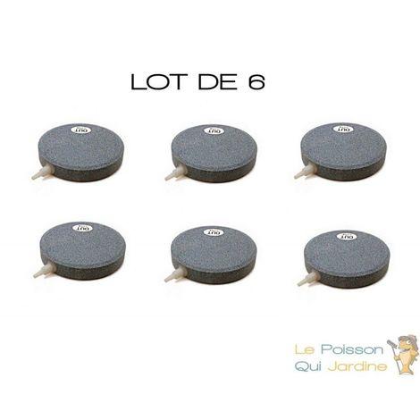 """main image of """"Lot de 6 diffuseurs d'air Disques 15 cm pour bassins de jardins et étangs"""""""