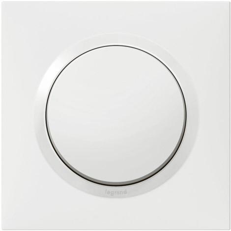 Lot de 6 interrupteurs va-et-vient complet Dooxie One 10AX 250V~ - Blanc - 300430 - Legrand