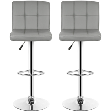 lot de 6 tabouret de bar, chiase de bar, Bar de cuisine, Gris clair