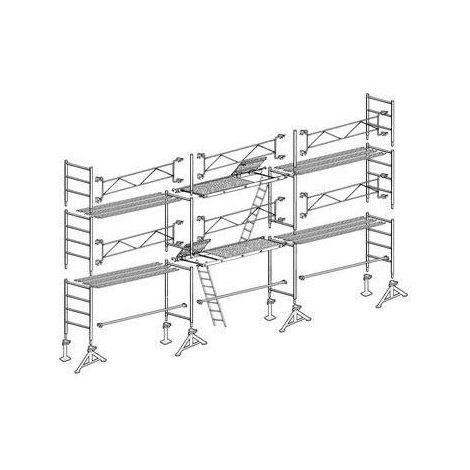 Lot de 60m2 VITO 49 structure + plancher Altrad