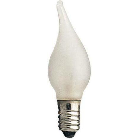 """Lot de 7 ampoules nacrées bougie """"coup de vent"""" 34 V, 3 W S42670"""