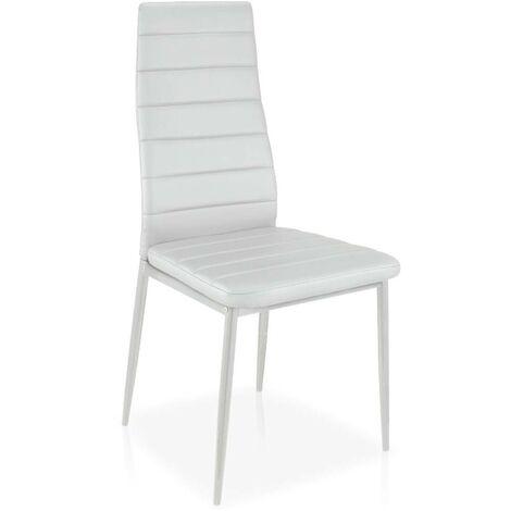 Lot de 8 chaises Stratus Blanc
