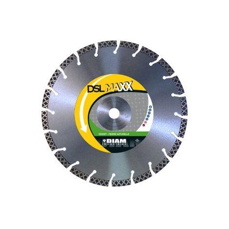 LOT DE 8 DISQUES DIAMANT DSLMAXX 125 PIERRE NATUREL GRANIT