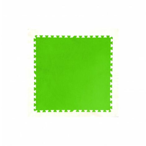 Lot de 8 tapis de protection pré formés - 81 x 81 cm - Vert