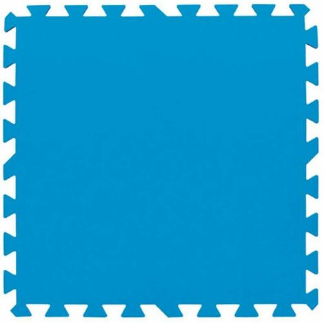 """main image of """"Lot de 9 dalles de sol bleu 50 x 50 cm"""""""