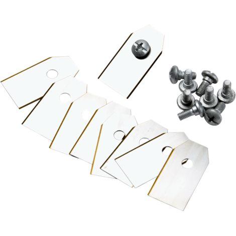 Lot de 9 lames de rechange pour tondeuses robot GARDENA 4087-20