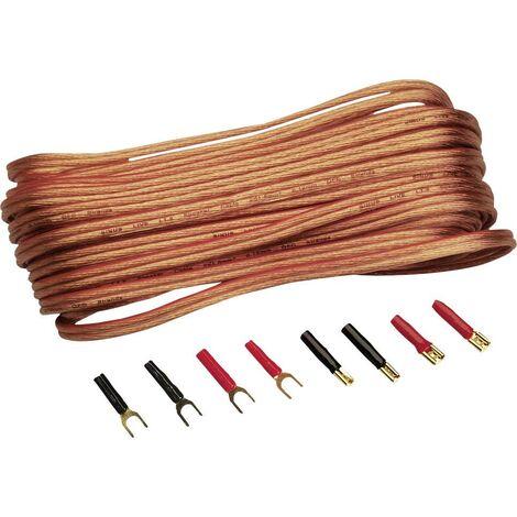 Lot de câbles pour haut-parleur N/A Sinuslive L1,5-10 Y48161