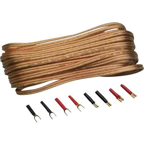 Lot de câbles pour haut-parleur N/A Sinuslive L2,5-10 Y48106