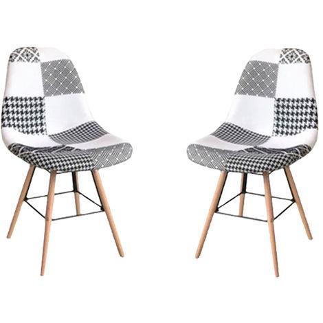 Lot chaise scandinave à prix mini