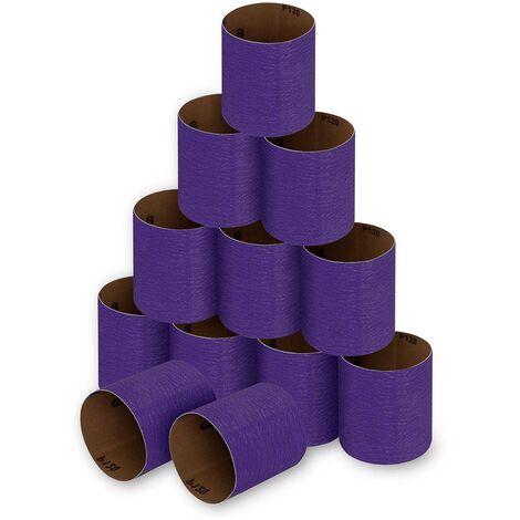 Lot De Douze Bandes Pour Satise Poncer 100 X 90Mm Abrasif Grain 120-12 Pieces