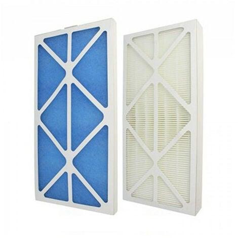 Lot de filtres G4 + M5 compatible 600913 - Pour VMC Idéo ou Initia
