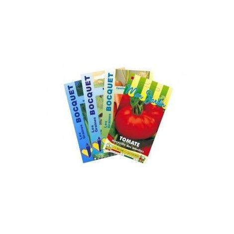 Lot de Légumes spécial Smoothie Orange (4 sachets de graines à semer) - 3,5g