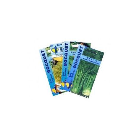 Lot de Légumes spécial Smoothie Vert (4 sachets de graines à semer) - 22,5g