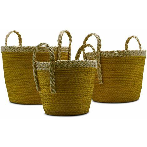 """main image of """"Lot de 3 paniers cache pots"""""""