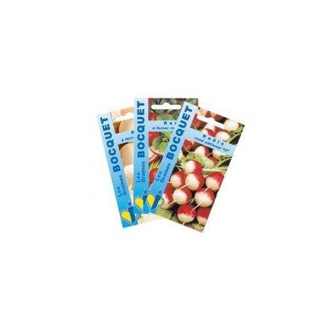 Lot de Radis Ronds (3 sachets de graines à semer) - 30g