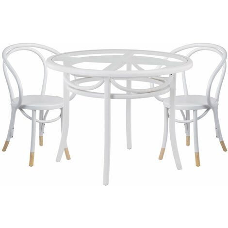 Table 38851 Thonamp; Blanc 2 Lot 81781 De Teno Chaises 1KcJlF