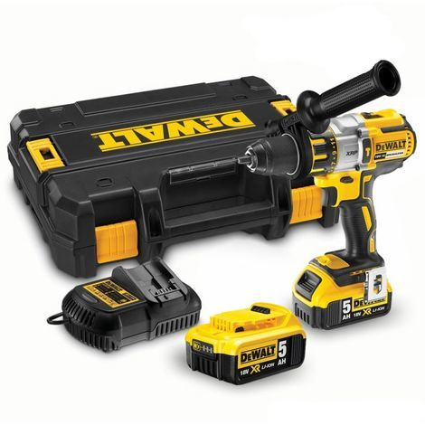 Lot DEWALT Perceuse visseuse à percussion DCD995P2 + Multicutter DCS355N - 2 batteries, chargeur - DCD995P355N