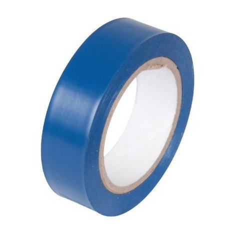 Ruban Isolant PVC usage courant Bleu Klauke