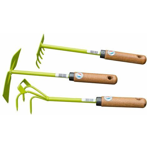 Lot d'outils à rocaille n°2 - 3 outils