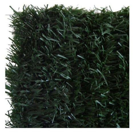 Lot of 10 rolls JET7GARDEN artificial hedge 1.20x3m - fir green - 126 ULTRA strands