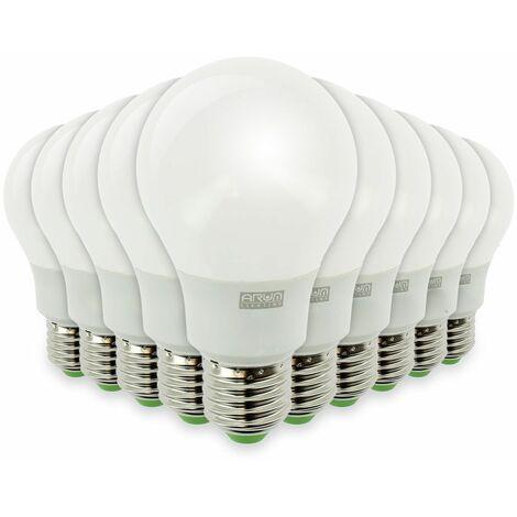 """main image of """"Lote de 10 bombillas LED E27 9W eq 60W 806lm"""""""
