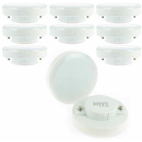 Lote de 10 bombillas LED GX53 7W eq 50W