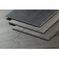 Lote de 10 lamas para suelo PVC 122x22,7cm - 5 mm - 2.78 m² - Madera gris