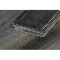 Lote de 10 lamas para suelo PVC 122x22,7cm - 5 mm - 2.78 m² - Roble gris oscuro