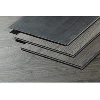 Lote de 12 lamas para suelo PVC 122 x 22,75 - 4 mm - 3.3 m² - Madera gris