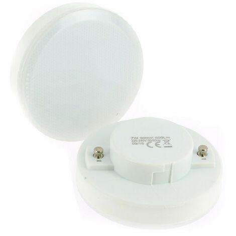 Lote de 2 bombillas LED GX53 7W eq 50W