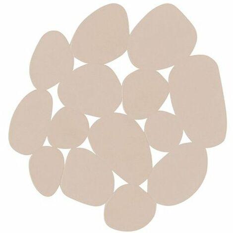 Lote de 4 piedras antideslizantes MSV en color beige