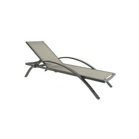 LOTE DE 4 x Tumbona RESOL Comfort sho1032038-DESKandSIT- GRIS 1032