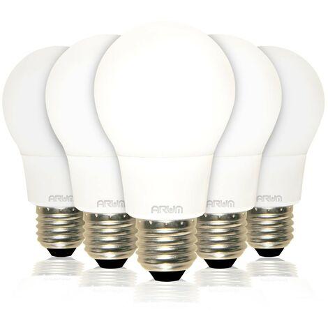 Lote de 5 bombillas E27 11W Eq 75W