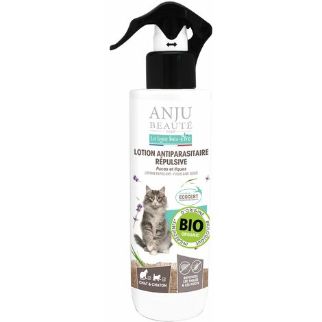 """main image of """"Lotion antiparasitaire pour chat Anju : 250 ml"""""""